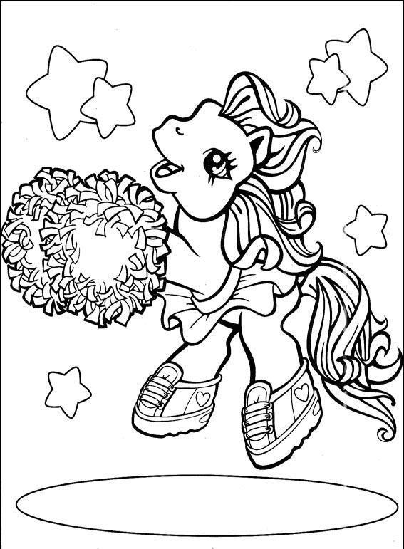 Desenho para colorir my little pony 253 crian as clickgr tis - Pony da colorare in immagini ...