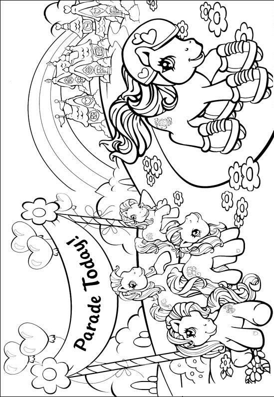 Kleurplaat Verjaardag My Little Pony Desenho Para Colorir My Little Pony 273 Crian 231 As Clickgr 225 Tis
