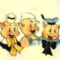 Desenhos de Os Três Porquinhos