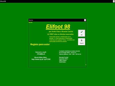 elifoot 98 gratis com registro