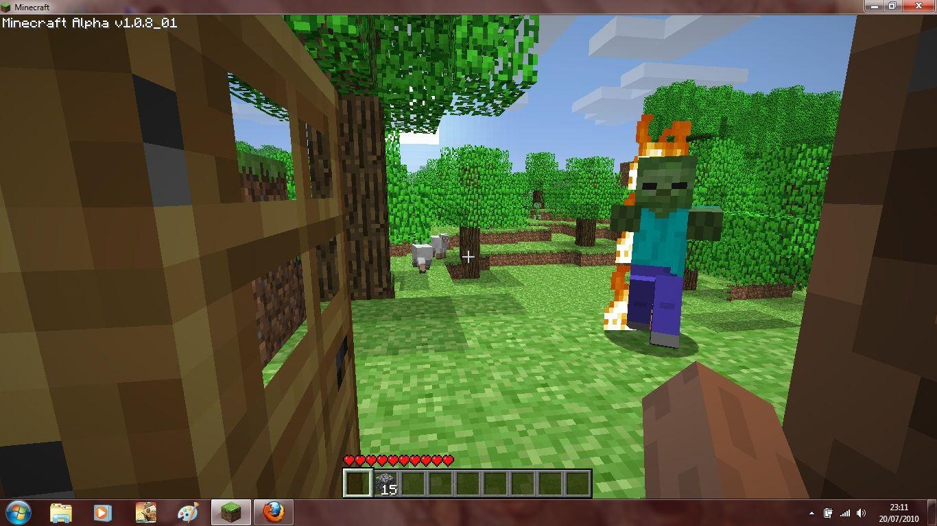 Download Minecraft Alpha Baixar no ClickGrtis