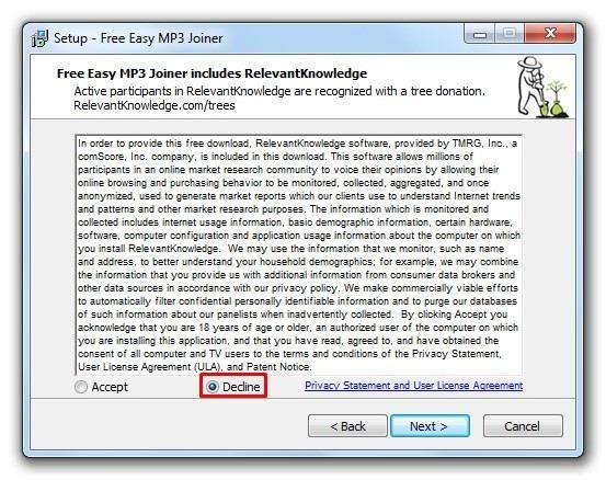 Step 2 Add MP3 to merge