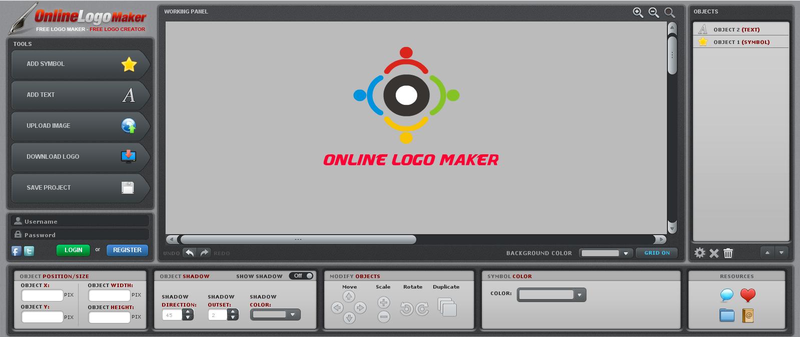 Download Online Logo Maker Baixar No Clickgr Tis