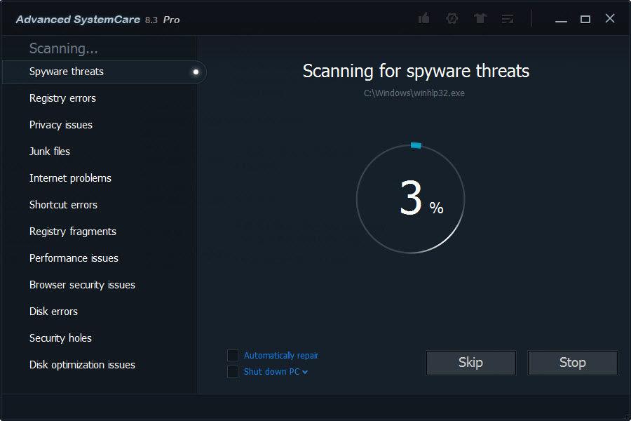 Download Advanced SystemCare - Baixar no ClickGrátis
