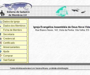 Baixar Cadastro de Membros de Igrejas