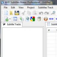 Baixar AHD Subtitles Maker