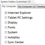 Baixar System Folders Customizer