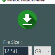 Baixar Advanced Download Planner