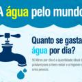 A água pelo mundo - Dia Mundial da Água - 22 de Março