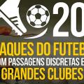 20 craques do futebol com passagens discretas em grandes clubes