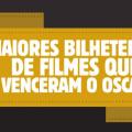 As maiores bilheterias de filmes que venceram o Oscar