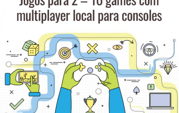 Jogos para 2 – 10 games com multiplayer local para consoles