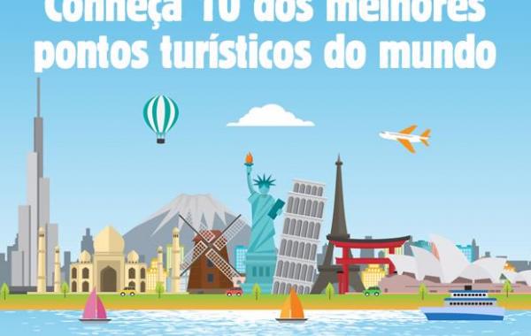 Conheça 10 dos melhores pontos turísticos do mundo