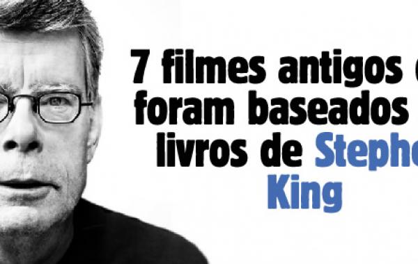 7 filmes antigos que foram baseados em livros de Stephen King