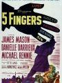 Cinco Dedos - Cartaz do Filme