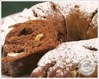 Receita Receita de Pão de Chocolate