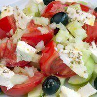Salada Mediterrânea - Receita de Saladas - ClickGrátis