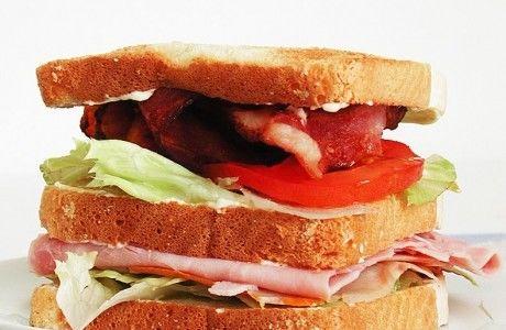 Club Sandwich - Receita de Pães e Sanduíches - ClickGrátis