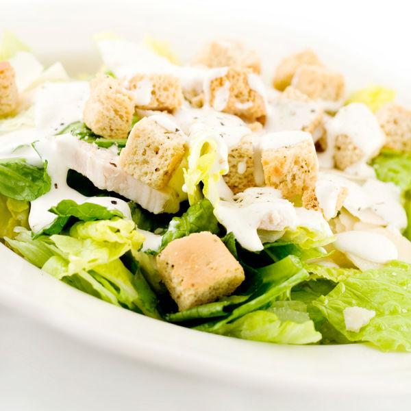 Receita Salada de Alface com Crouton