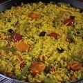 Receita Paella com Legumes