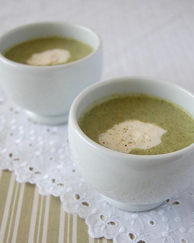 Receita Sopa Creme de Brócolis