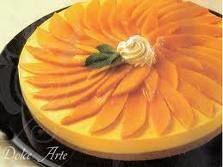 Receita Torta Mousse de Chocolate com Damasco