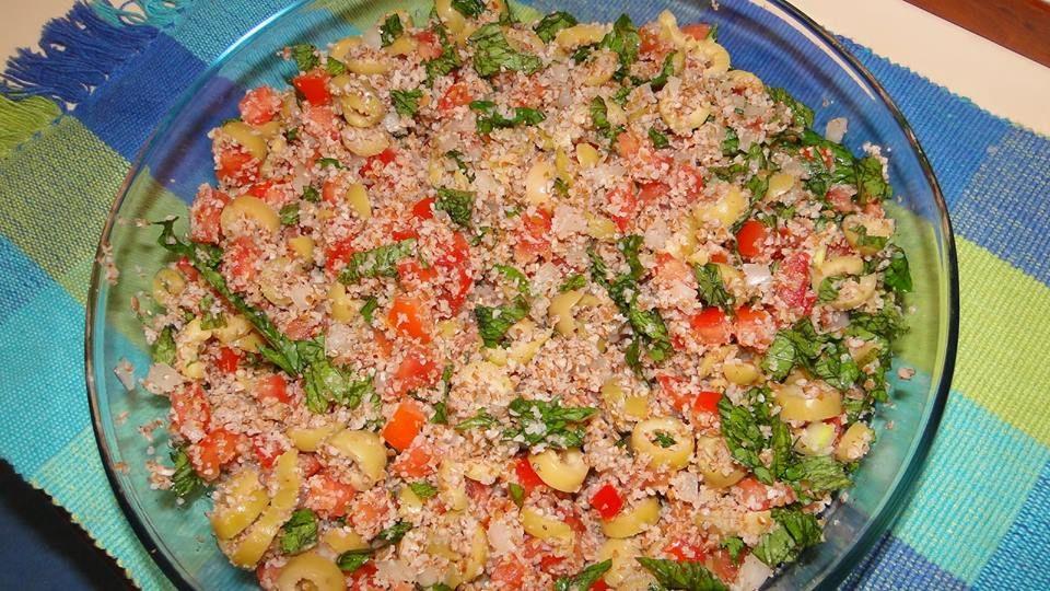 Receita Salada árabe