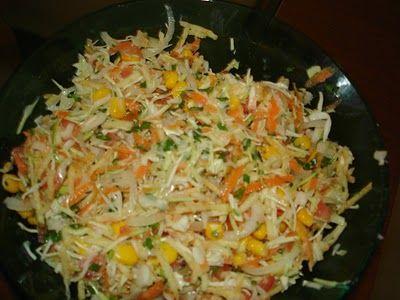 Receita Salada de Festa