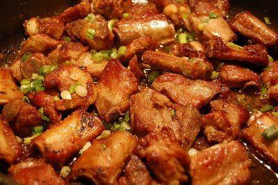 Receita Costelinhas de Porco Fritas