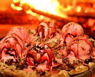 Receita Pizza de Sorvete