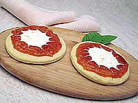 Receita Pizza Romeu e Julieta com Geléia de Goiaba