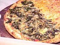 Receita Pizza de Escarola