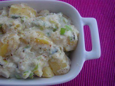 Receita Salada de Batata com Iogurte