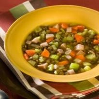 Receita Sopa Alemã de Lentilha