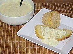 Receita Batata à Milanesa Assada ao Molho de Iogurte