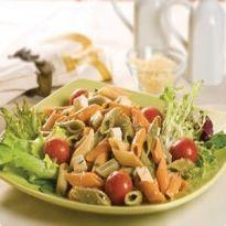Receita Salada de Penne Tricolor