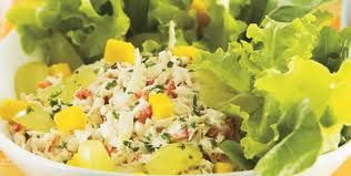 Receita Salada de Frango Tropical