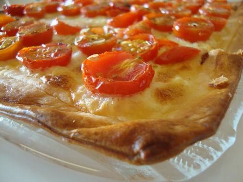 Receita Tarte de Tomate Cherry
