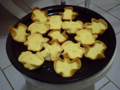 Receita Tortinhas de Côco