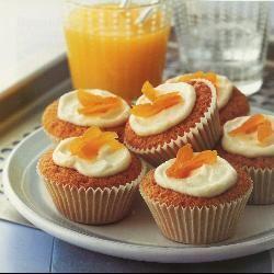 Receita Cupcakes de Laranja