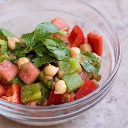 Receita Salada Marroquina de Lentilha