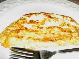 Receita Omelete de Queijo ao Forno