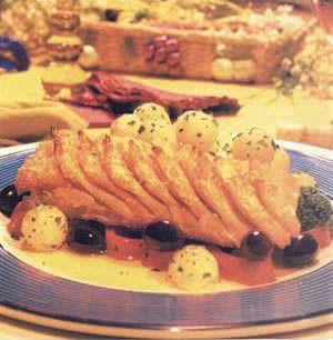 Receita Bacalhau da Noruega Gratinado