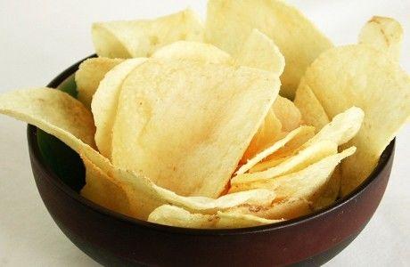 Receita Batata Chips