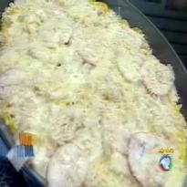 Receita Bacalhau Gratinado do Edu Guedes