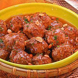 Receita Bolinhos de Carne com Amendoim