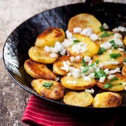 Receita Batatas Sauté de Frigideira