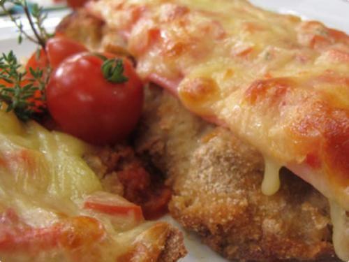 Receita Bife à Parmegiana de Forno