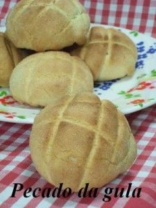 Receita Melon Pan