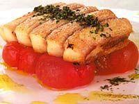Receita Arraia Grelhada com Tomate-cereja Confitado em Calda Picante